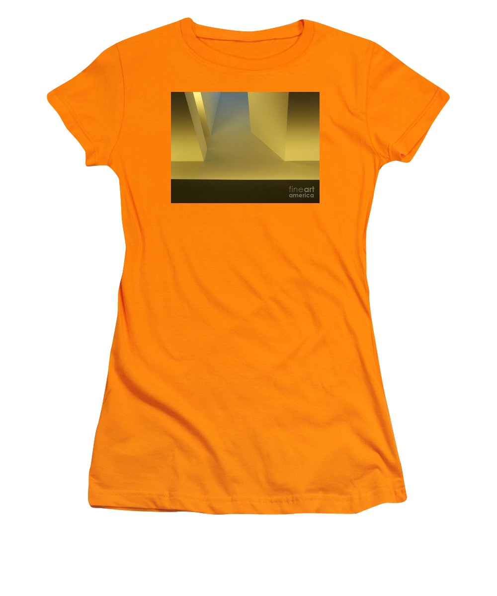 Yellow Women's T-Shirt (Athletic Fit) featuring the photograph Above Series 4.0 by Dana DiPasquale