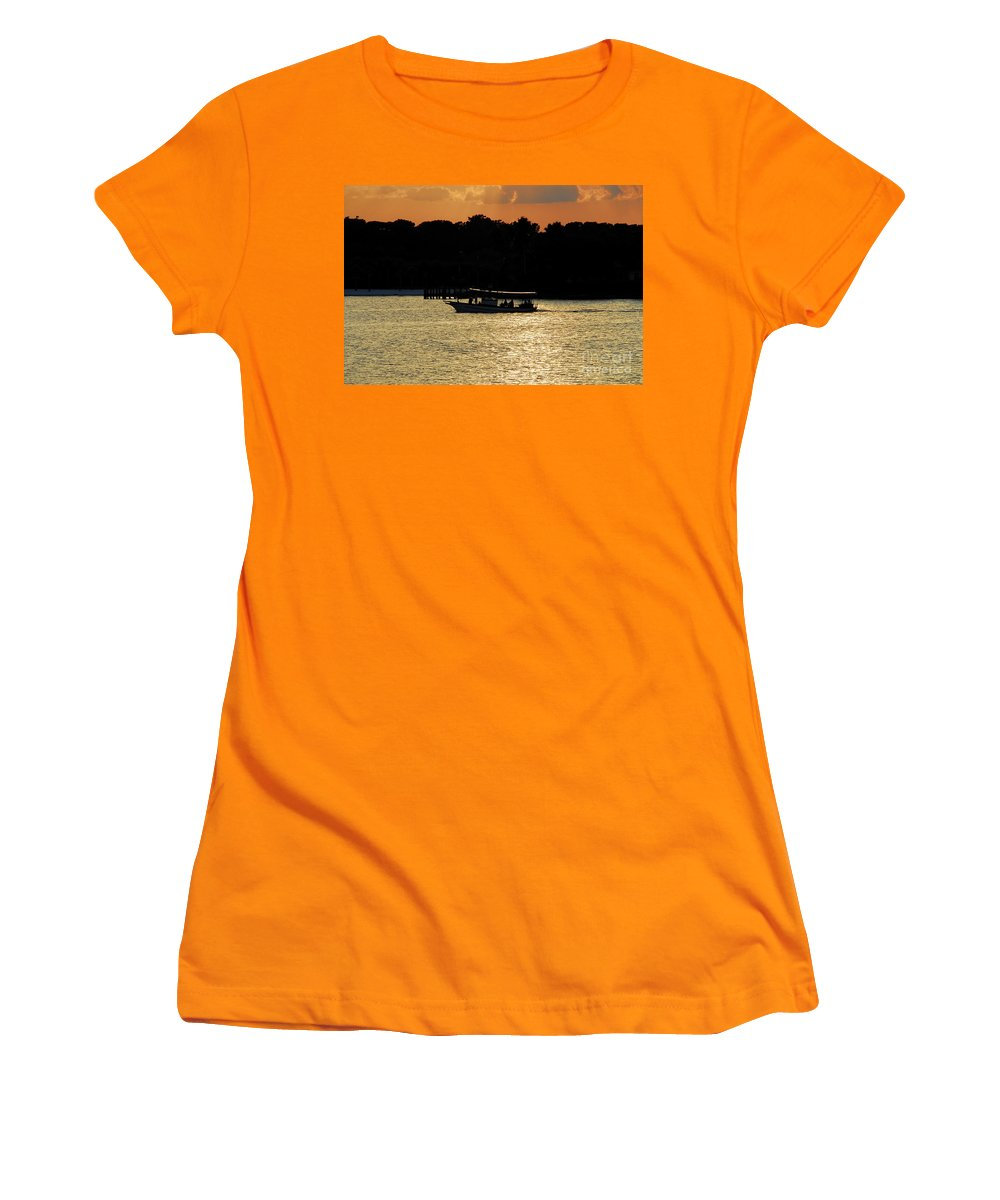 Adventure Travel Women's T-Shirt (Athletic Fit) featuring the photograph Adventure Travel by David Lee Thompson