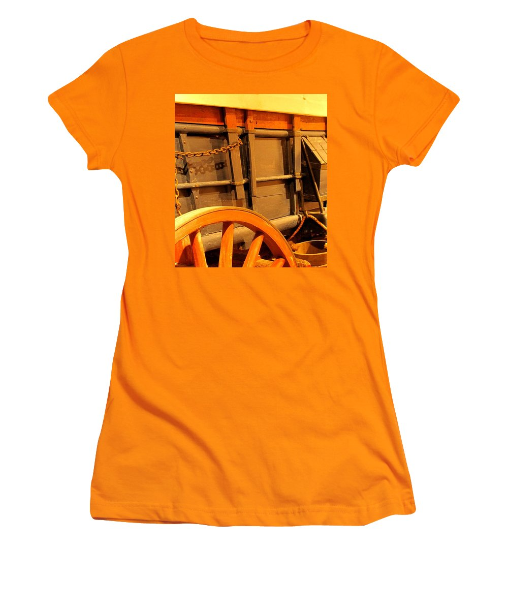 Conestoga Women's T-Shirt (Athletic Fit) featuring the photograph Conestoga by Ian MacDonald