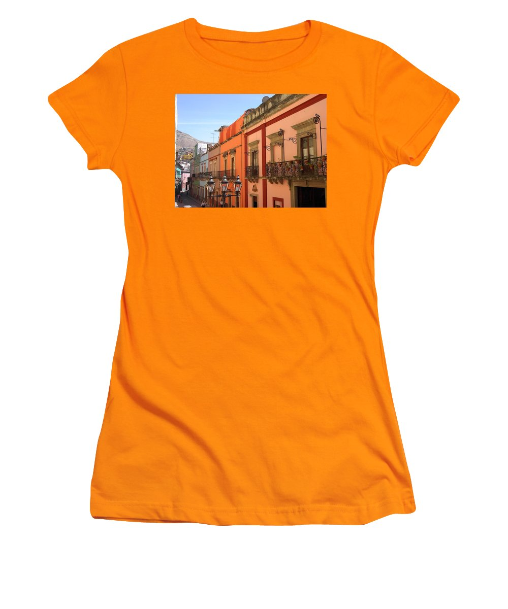 Charity Women's T-Shirt (Athletic Fit) featuring the photograph Guanajuato by Mary-Lee Sanders