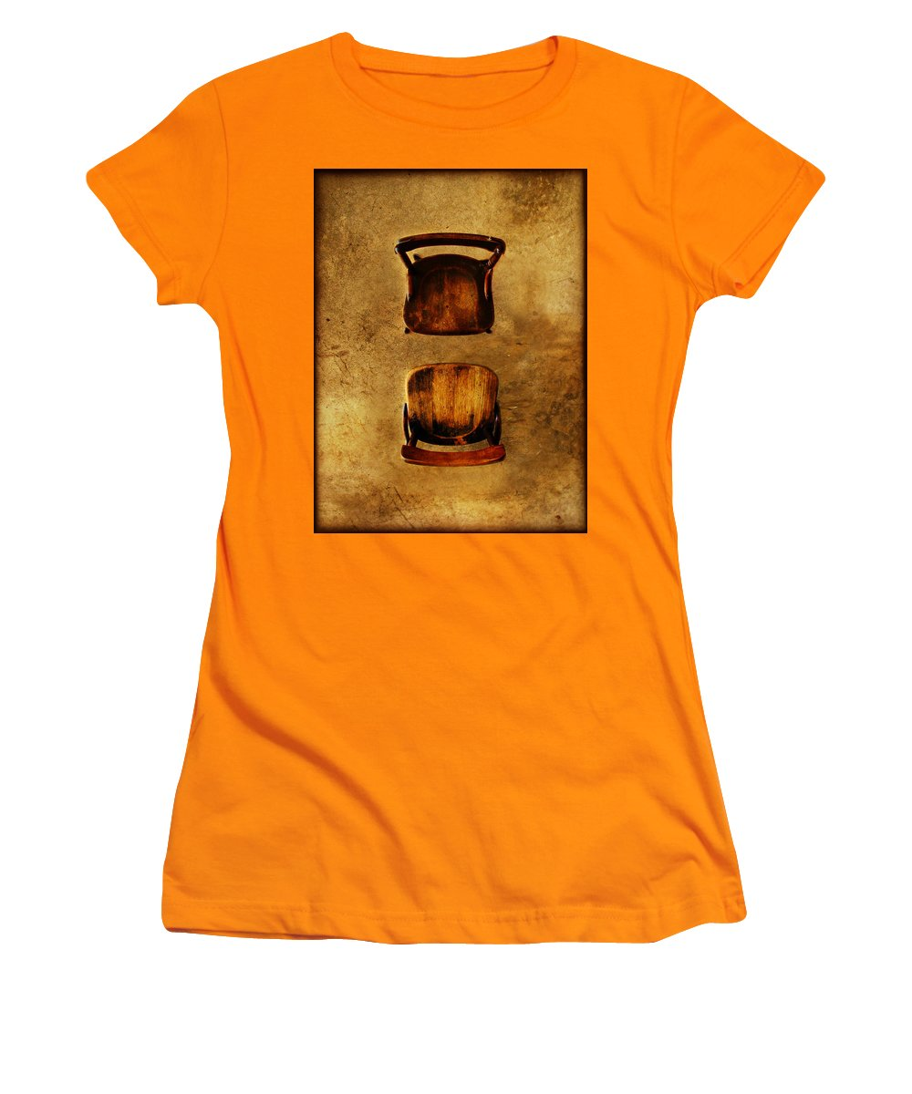 Dipasquale Women's T-Shirt (Athletic Fit) featuring the photograph The Space Between You And Me by Dana DiPasquale