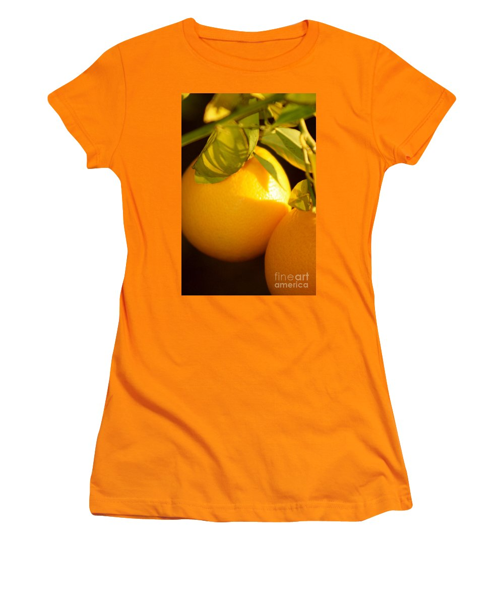 Fruit Women's T-Shirt (Athletic Fit) featuring the photograph Winter Fruit by Nadine Rippelmeyer
