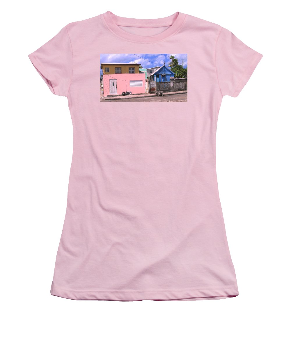Basseterre Women's T-Shirt (Athletic Fit) featuring the photograph Far From Dull by Ian MacDonald