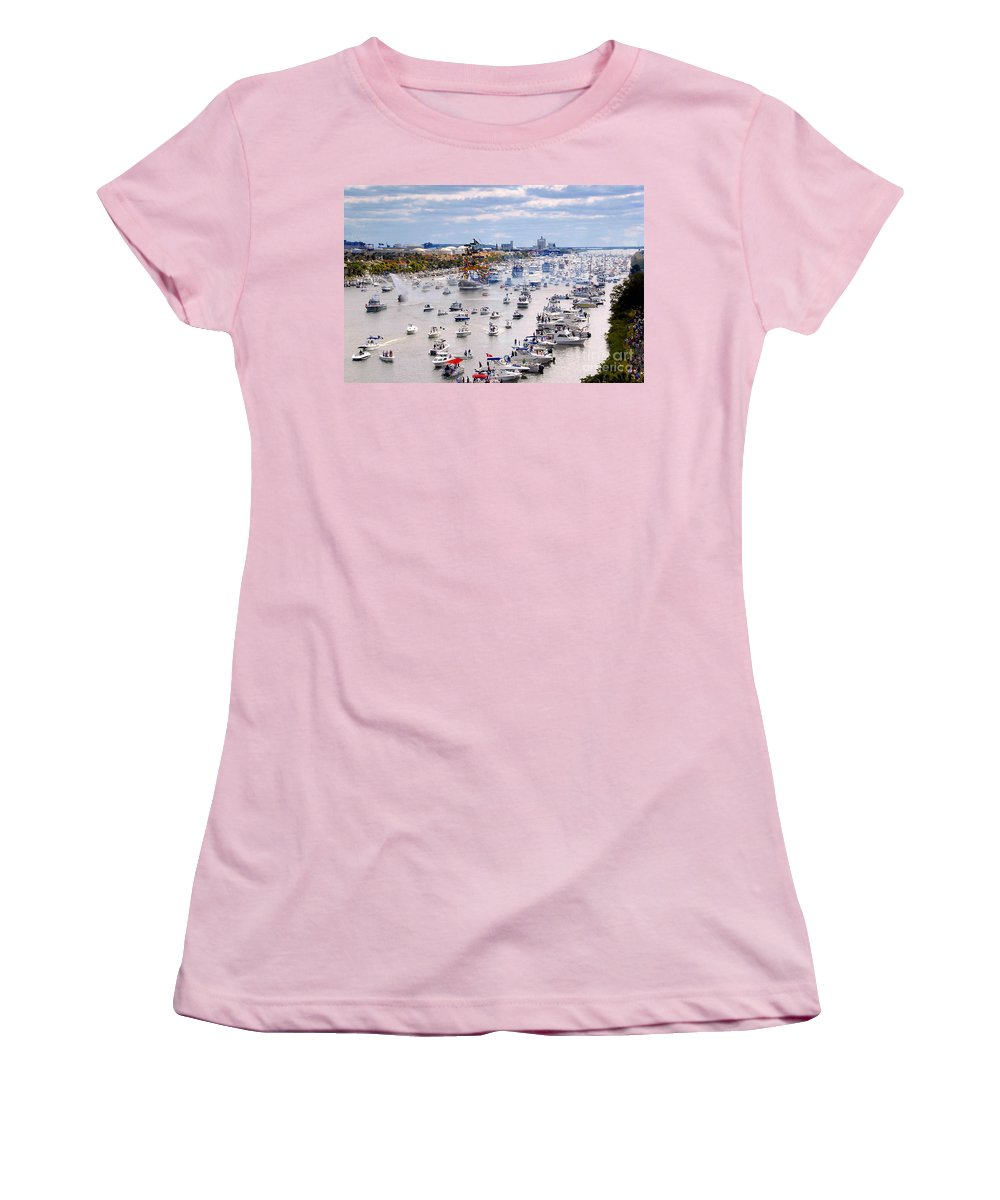 Jose Gasparilla Women's T-Shirt (Athletic Fit) featuring the photograph Gaspar by David Lee Thompson