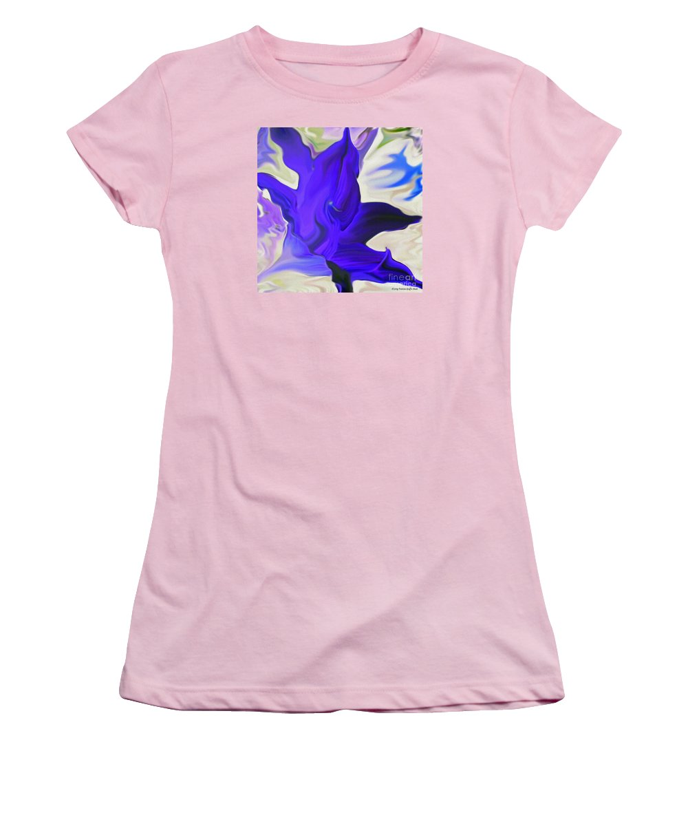 Mixed Media Art Women's T-Shirt (Athletic Fit) featuring the photograph Glory I by Patricia Griffin Brett
