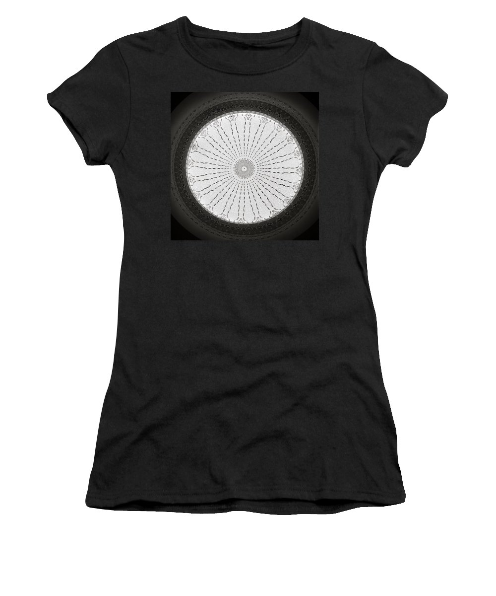 Asia Women's T-Shirt (Athletic Fit) featuring the photograph Ceiling Dome by Shaun Higson