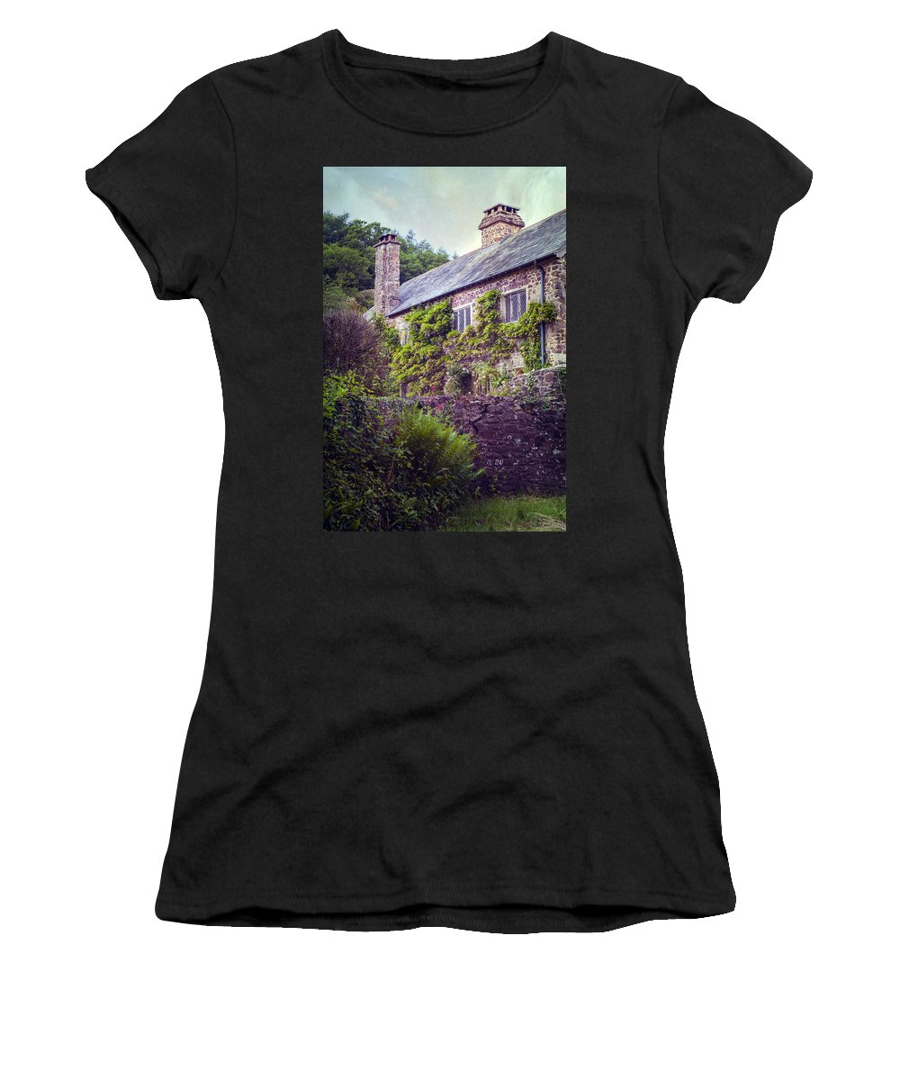 Cottage Women's T-Shirt featuring the photograph English Cottage by Joana Kruse