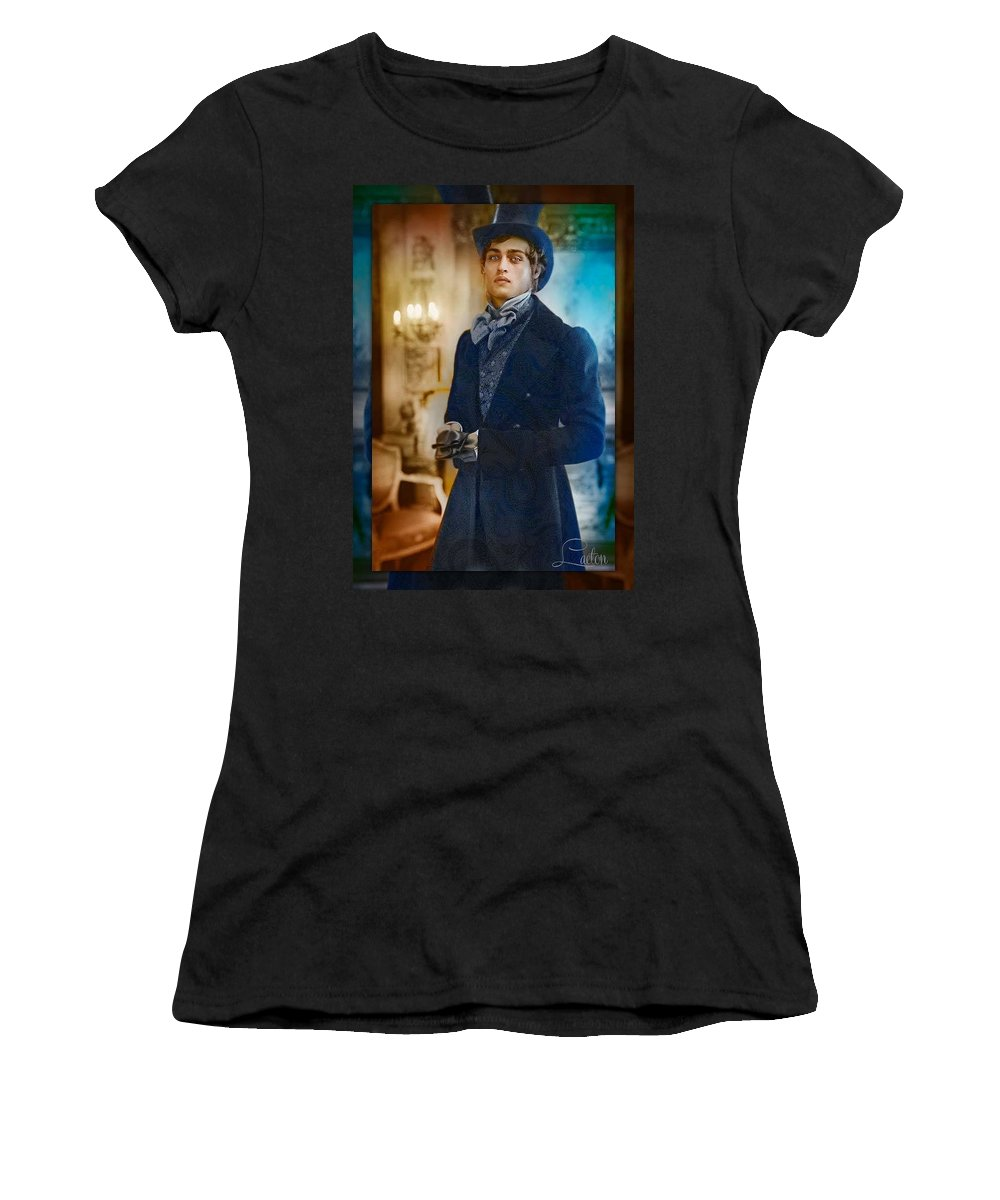Vintage Women's T-Shirt featuring the photograph Equipoise by Richard Laeton