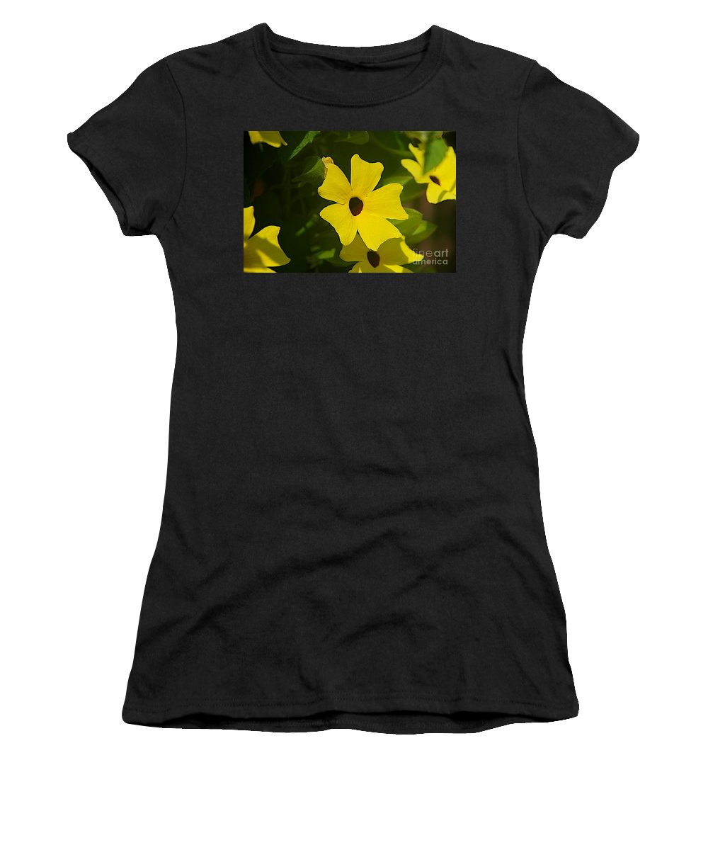 Spring Women's T-Shirt (Athletic Fit) featuring the photograph Eyes by Joseph Yarbrough