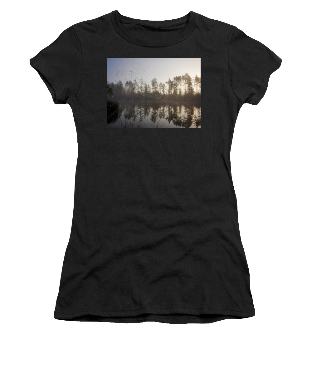 Finland Women's T-Shirt (Athletic Fit) featuring the photograph Natural Network by Jouko Lehto
