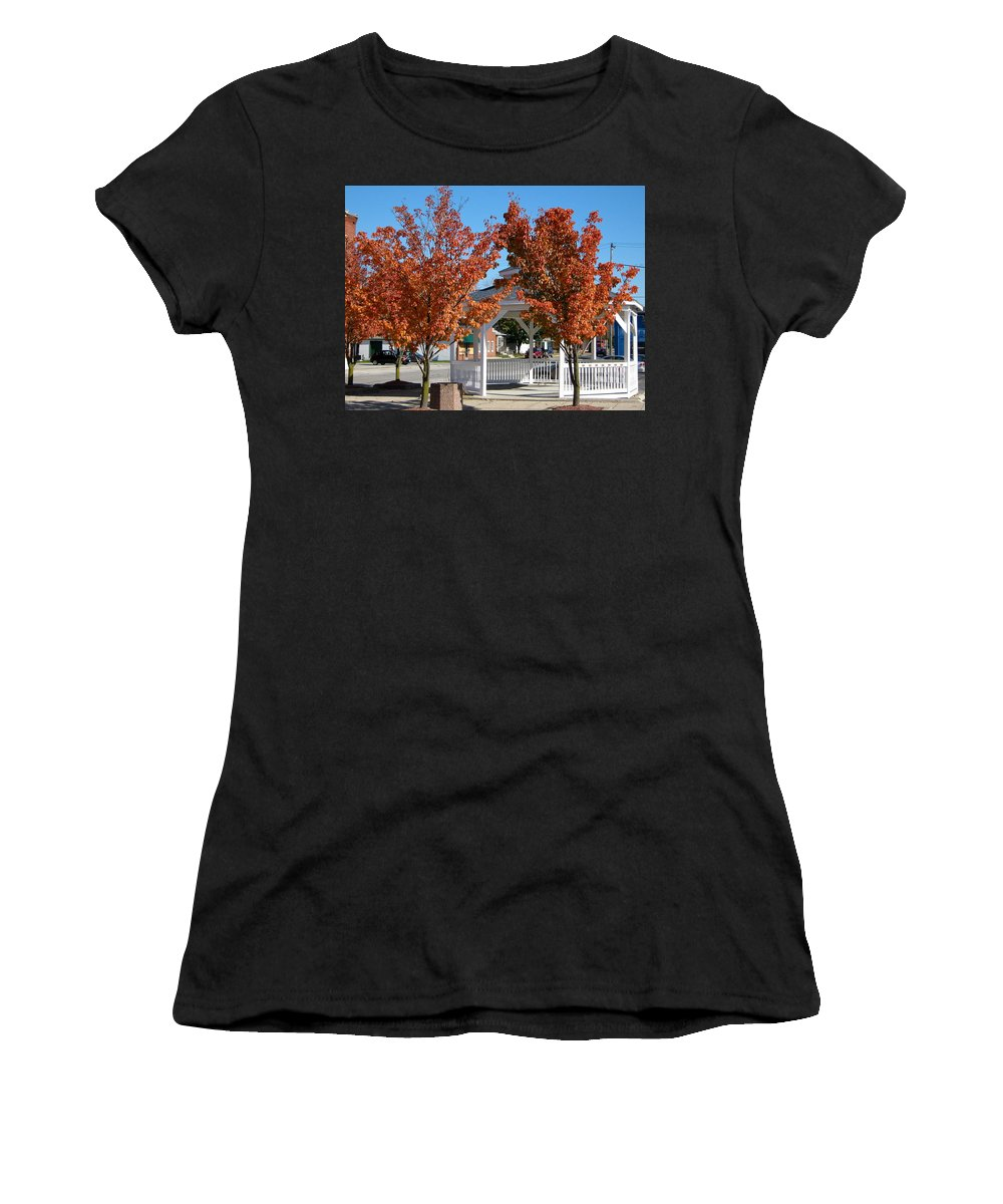 Tree Women's T-Shirt featuring the photograph Ohio Trees by Denise Mazzocco