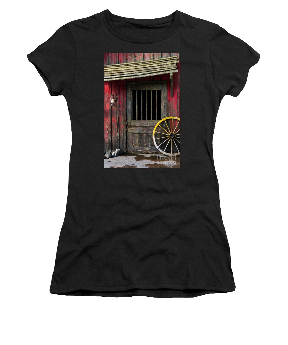 Rustic Women's T-Shirt featuring the photograph Rural Western by Carlos Caetano