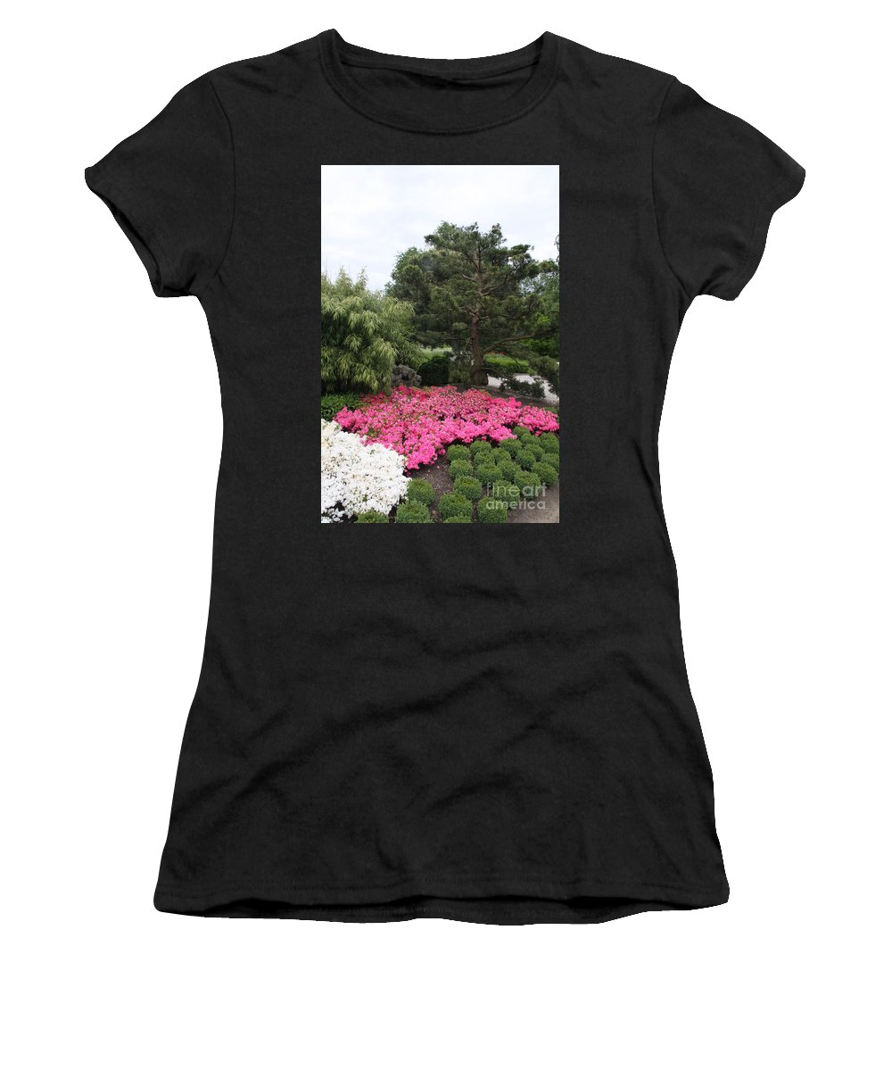 Spring Women's T-Shirt (Athletic Fit) featuring the photograph Springtime In The Park by Christiane Schulze Art And Photography