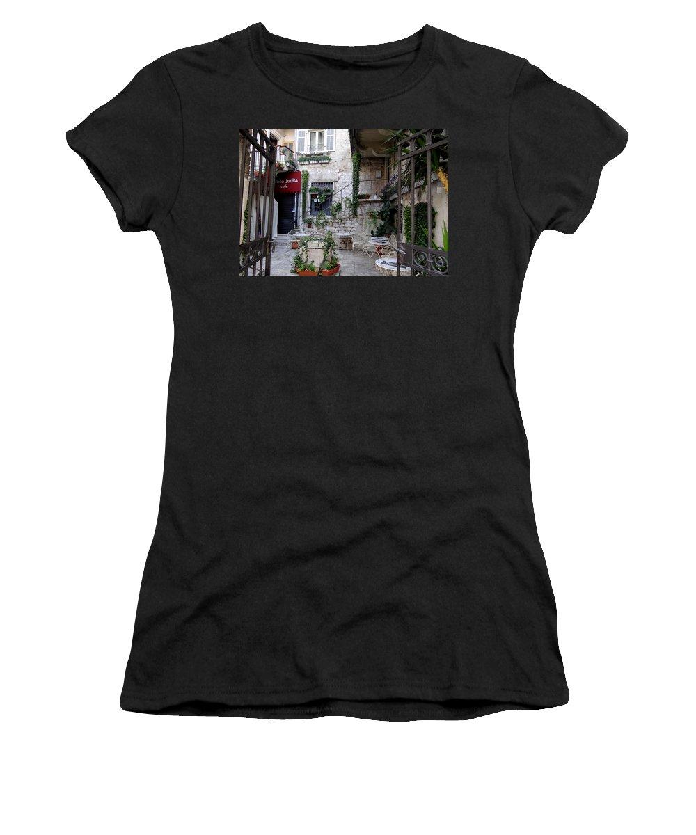 Mediterranean Women's T-Shirt featuring the photograph Views Of Split Croatia by Richard Rosenshein