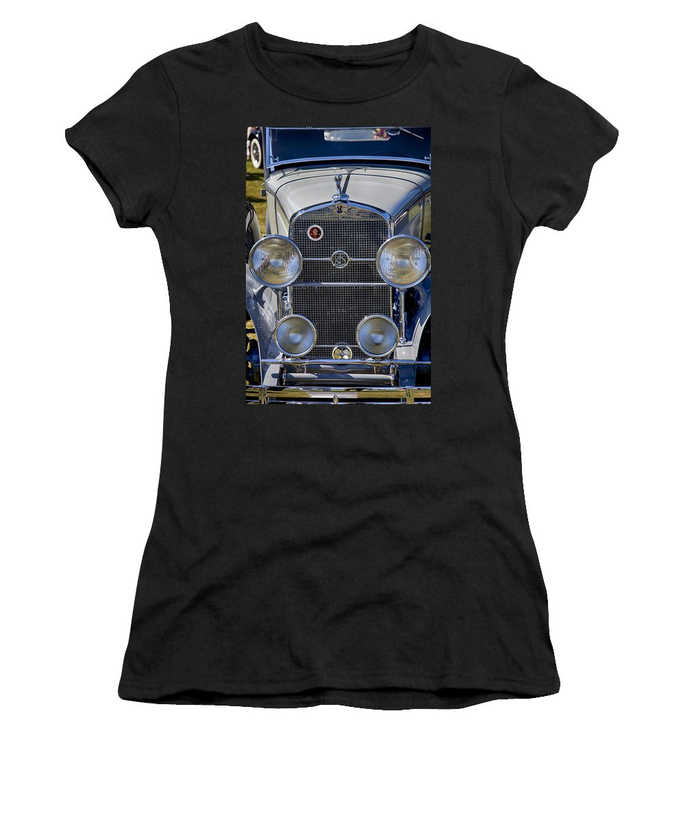 1930 Women's T-Shirt (Athletic Fit) featuring the photograph 1930 Lasalle 340 by Jack R Perry