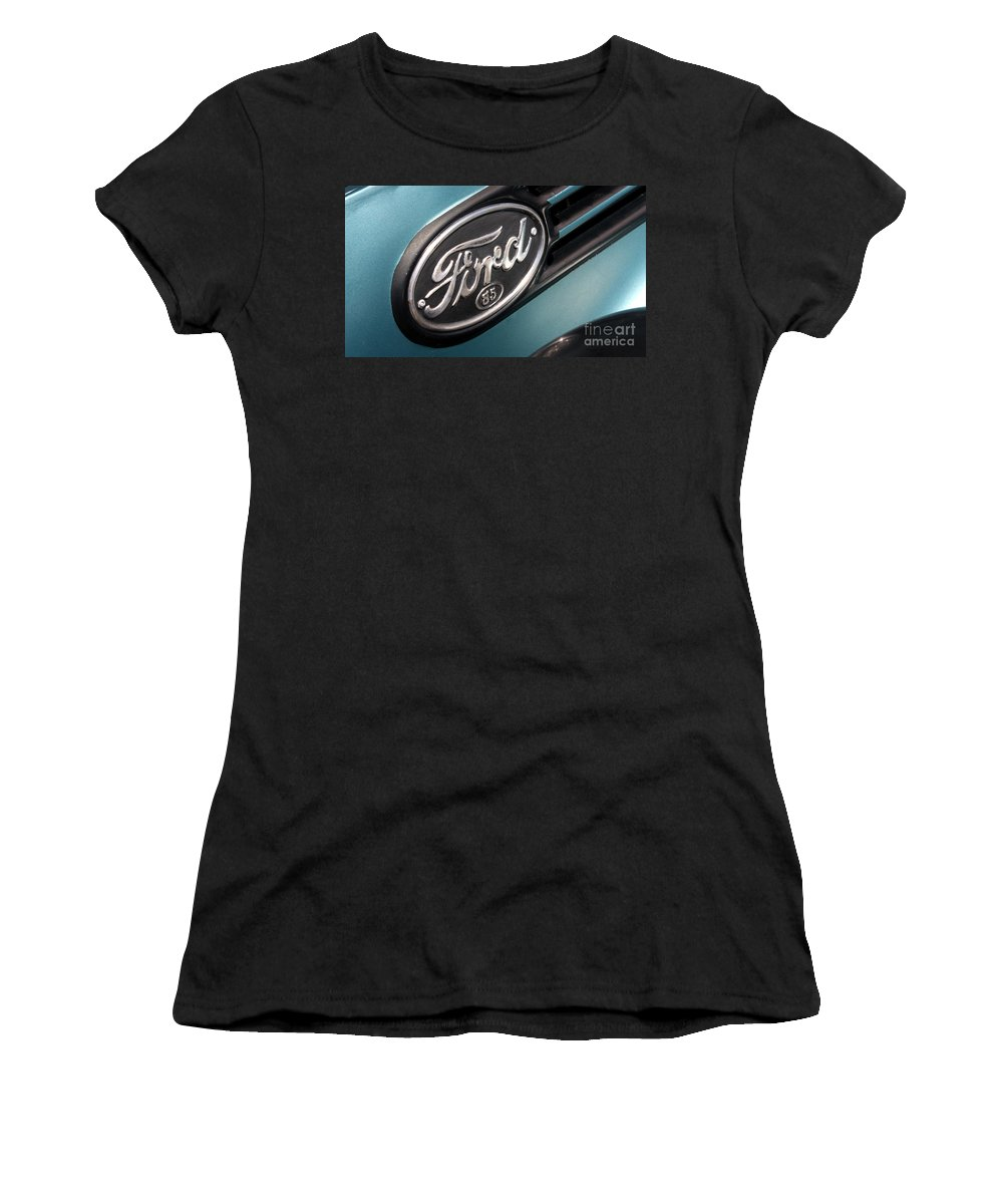 1938 Ford Pickup Women's T-Shirt featuring the photograph 1938 Ford Pickup - 7465 by Gary Gingrich Galleries