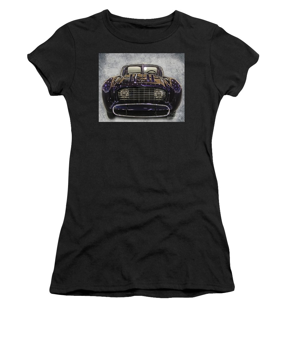 Concept Women's T-Shirt featuring the photograph 1955 Flajole Forerunner by Tom Gari Gallery-Three-Photography