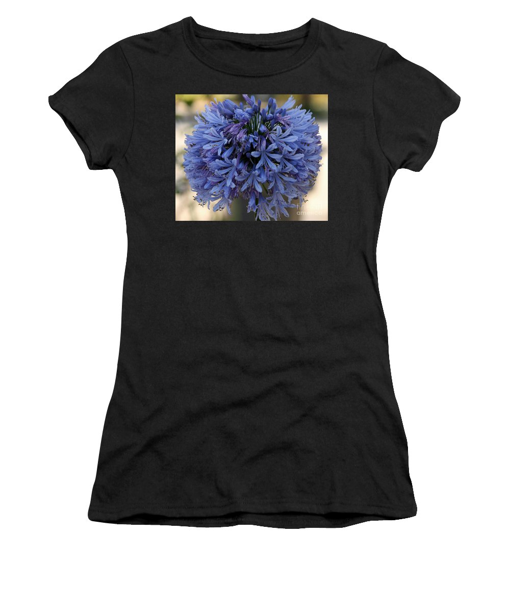 Agapanthus Women's T-Shirt featuring the photograph Agapanthus by Luv Photography
