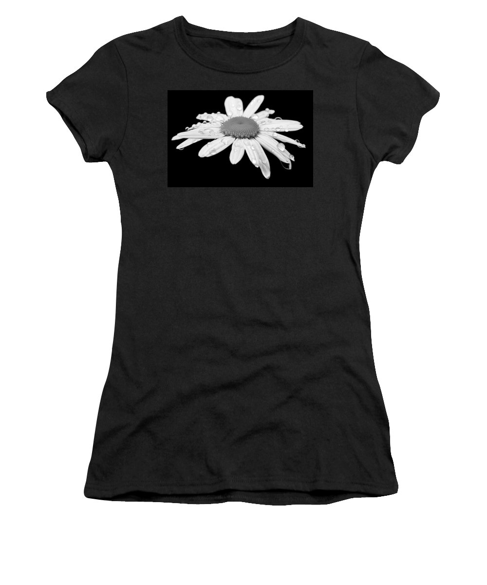 Bloom Women's T-Shirt featuring the photograph Daisy by Paul Fell
