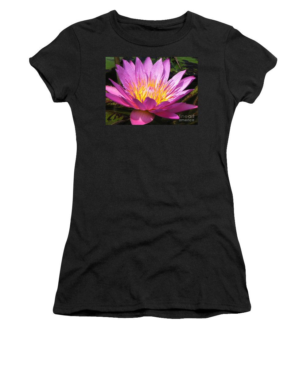 Lilly Women's T-Shirt (Athletic Fit) featuring the photograph It by Amanda Barcon