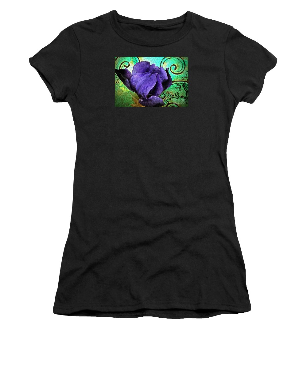 Nature Women's T-Shirt (Athletic Fit) featuring the photograph Purple Perfume by Chris Berry