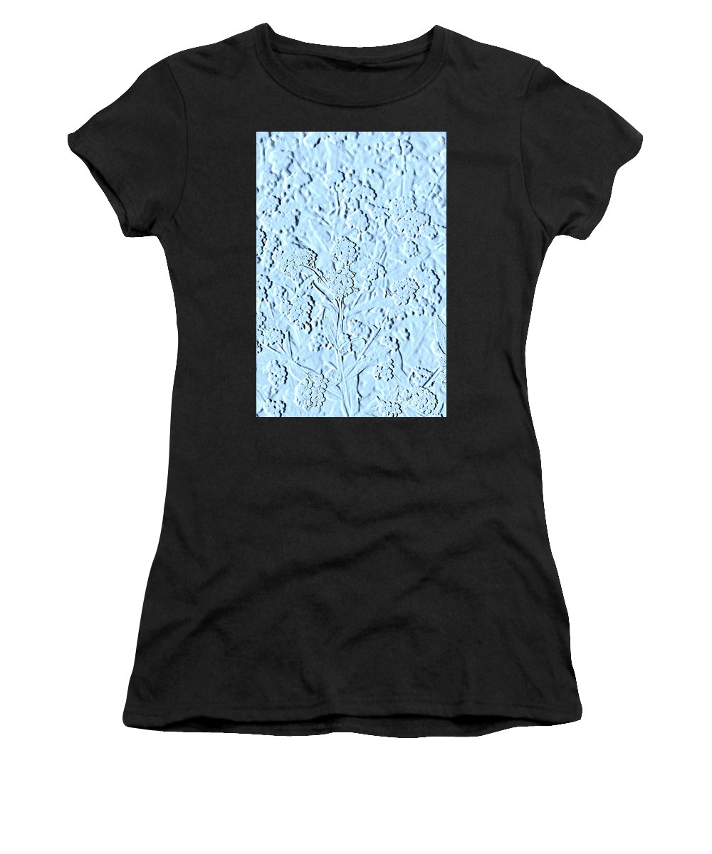 Tinkerbell Women's T-Shirt (Athletic Fit) featuring the photograph Stone Pattern by Lali Kacharava