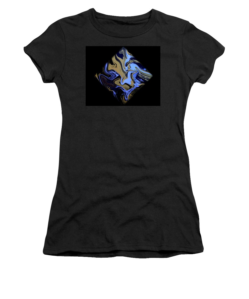 Original Women's T-Shirt (Athletic Fit) featuring the painting Diamond 204 by J D Owen