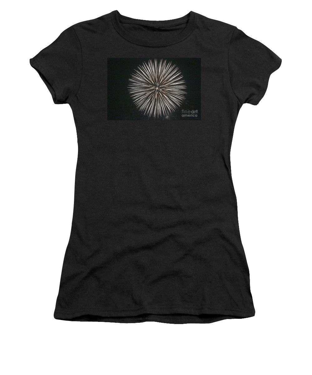 Fire Works Women's T-Shirt featuring the photograph 360 by Robert Pearson