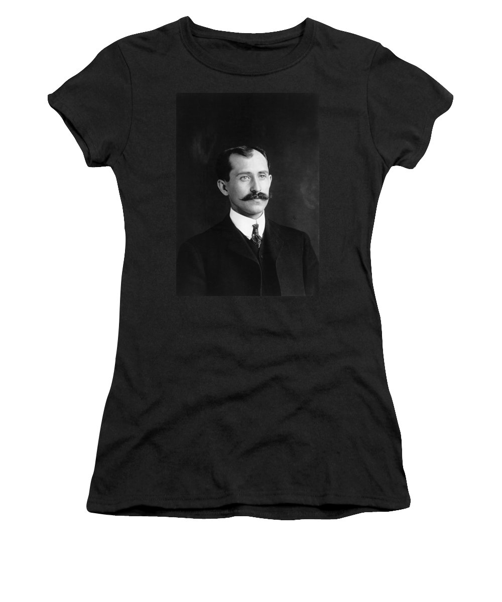 1905 Women's T-Shirt (Athletic Fit) featuring the photograph Orville Wright (1871-1948) by Granger