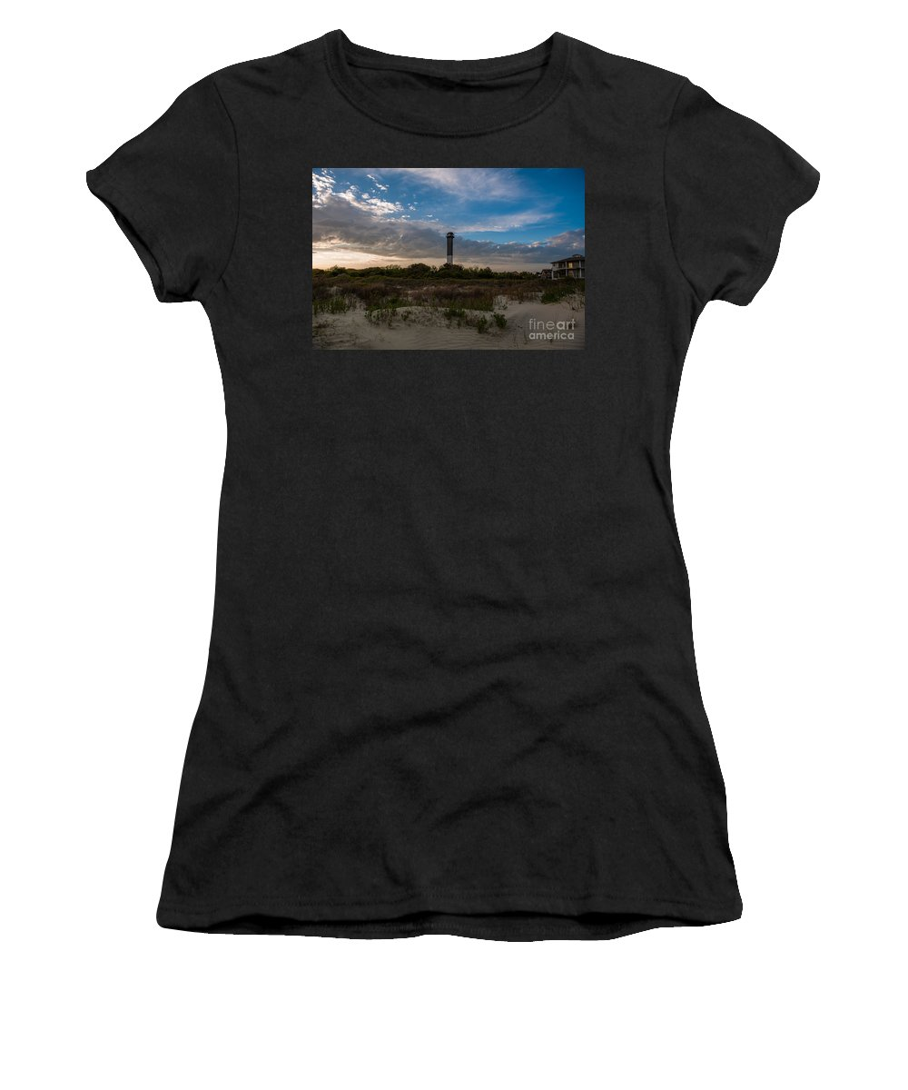 Sullivan's Island Women's T-Shirt (Athletic Fit) featuring the photograph Lowcountry Character by Dale Powell