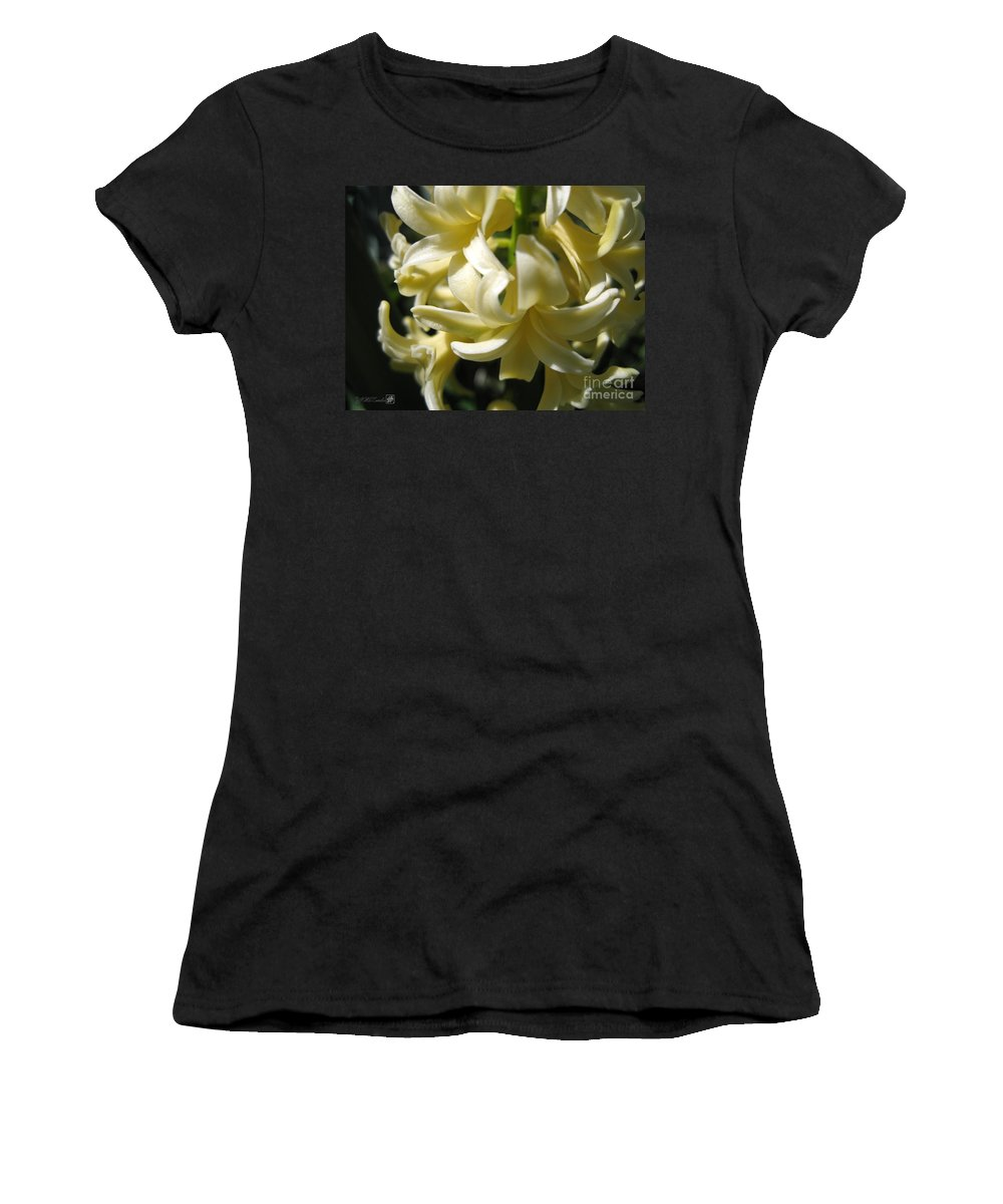 Mccombie Women's T-Shirt (Athletic Fit) featuring the photograph Hyacinth Named City Of Haarlem by J McCombie