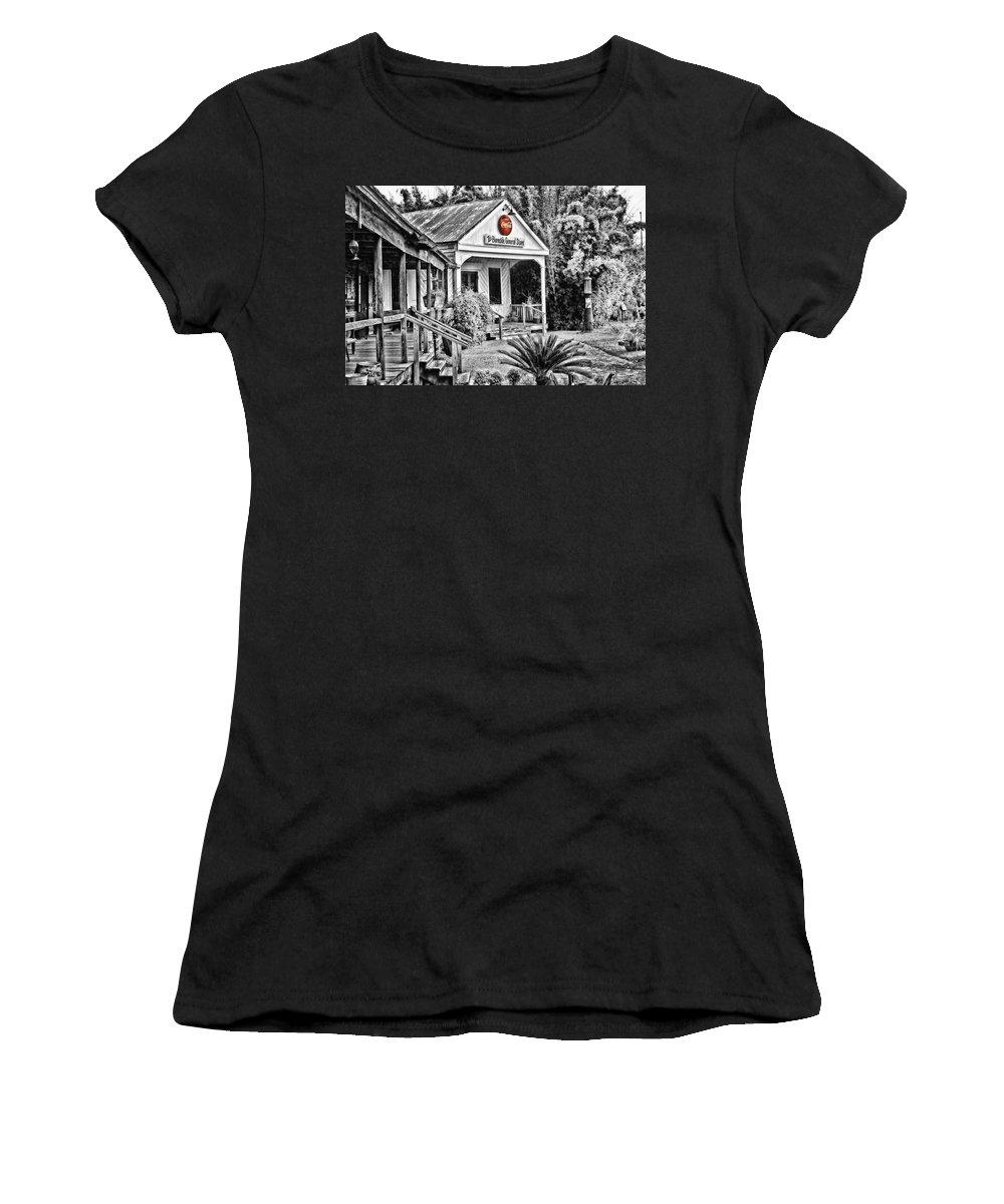 Burnside Women's T-Shirt featuring the photograph The Burnside General Store by Scott Pellegrin