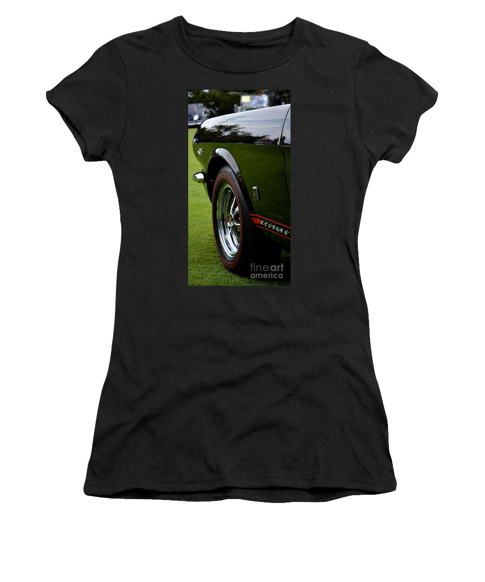 Women's T-Shirt featuring the photograph Hillsborough Concourse by Dean Ferreira