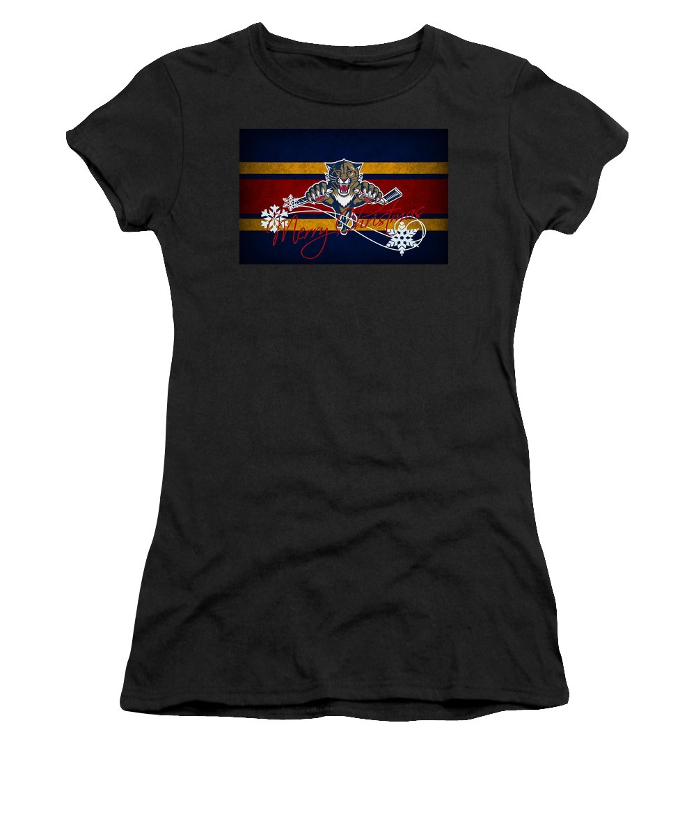 Panthers Women's T-Shirt featuring the photograph Florida Panthers by Joe Hamilton