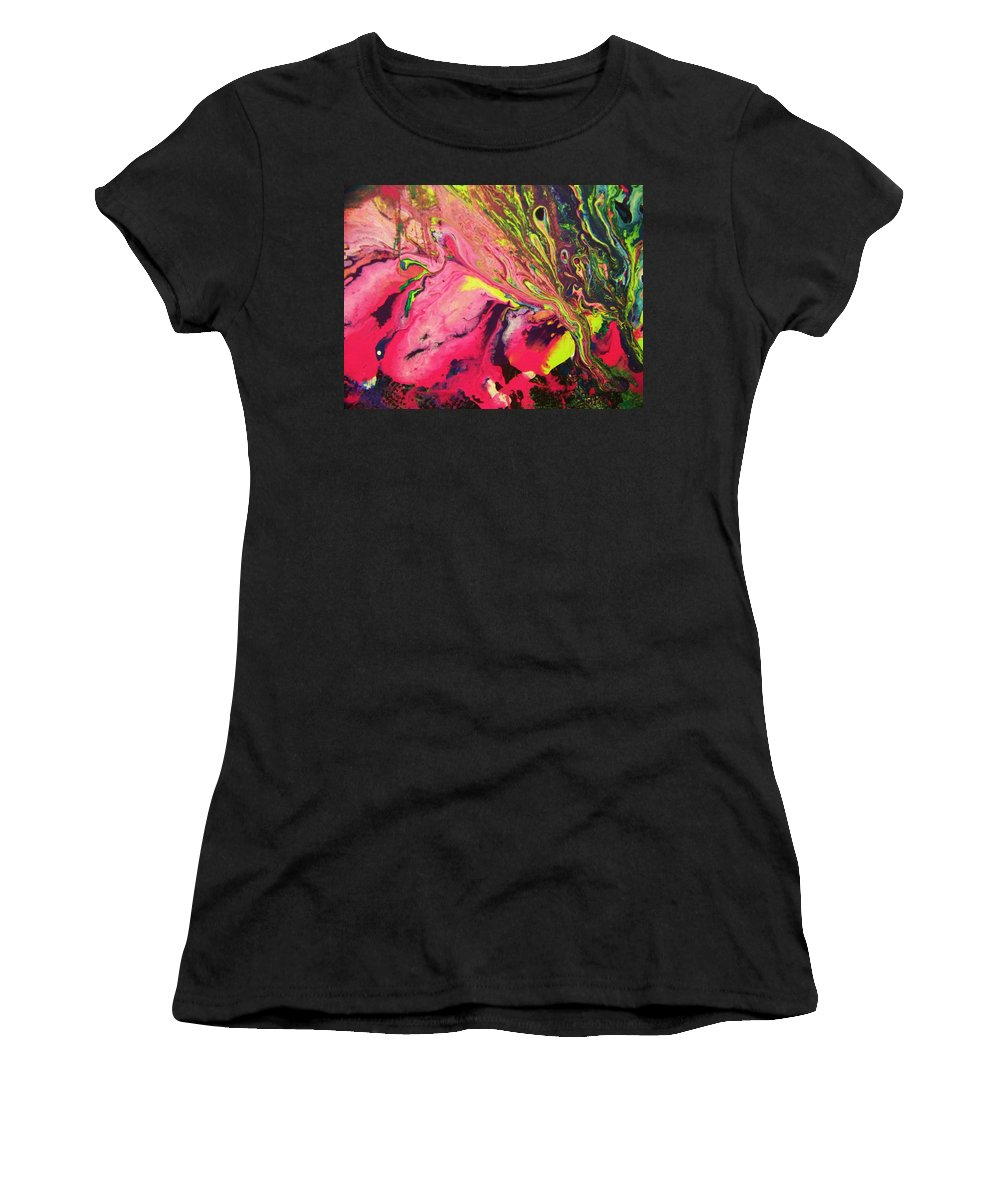 Inspirational Women's T-Shirt featuring the painting A Heart Renewed by Jewell McChesney