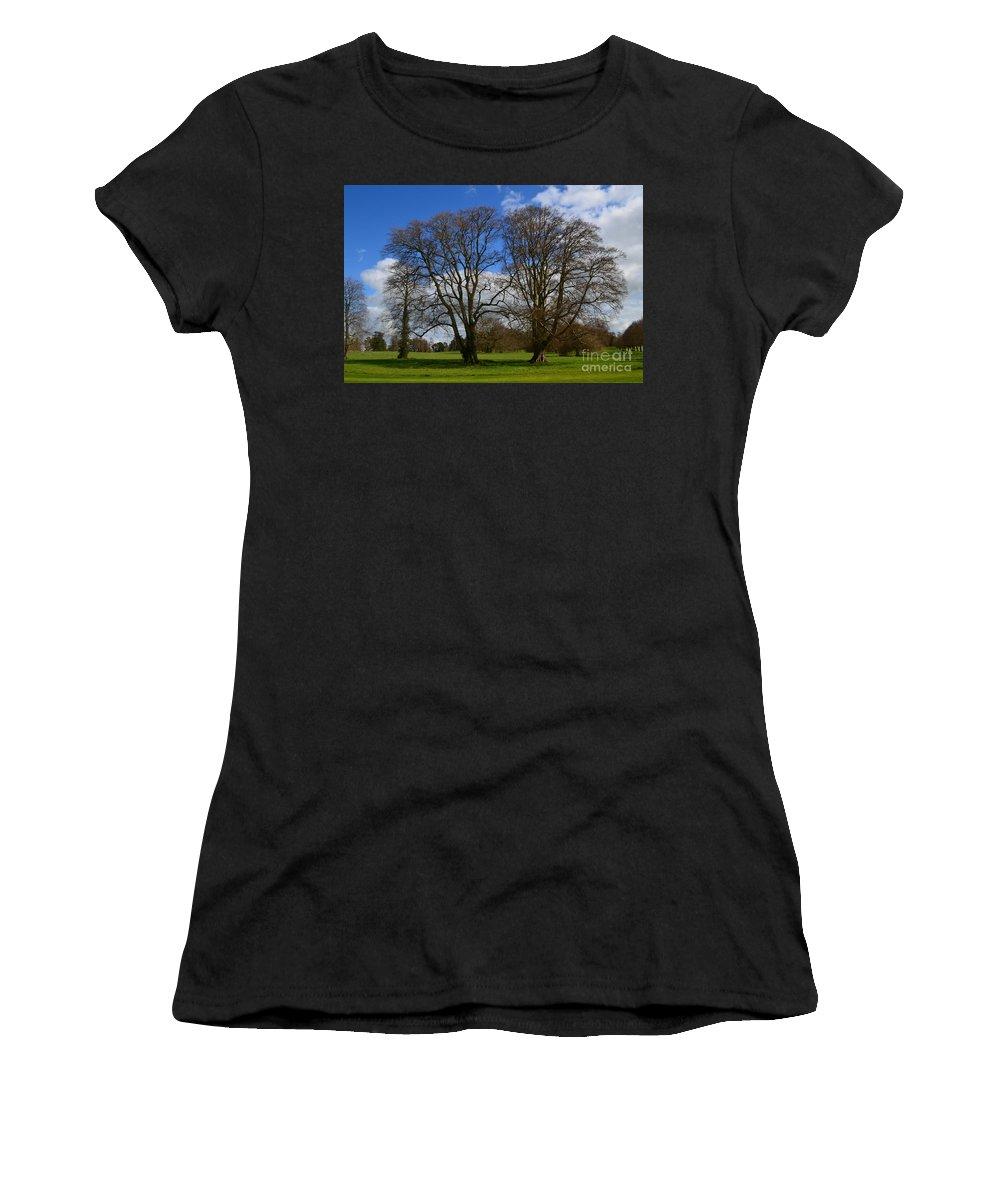 Irieland Women's T-Shirt featuring the photograph Adare Manor Grounds by DejaVu Designs