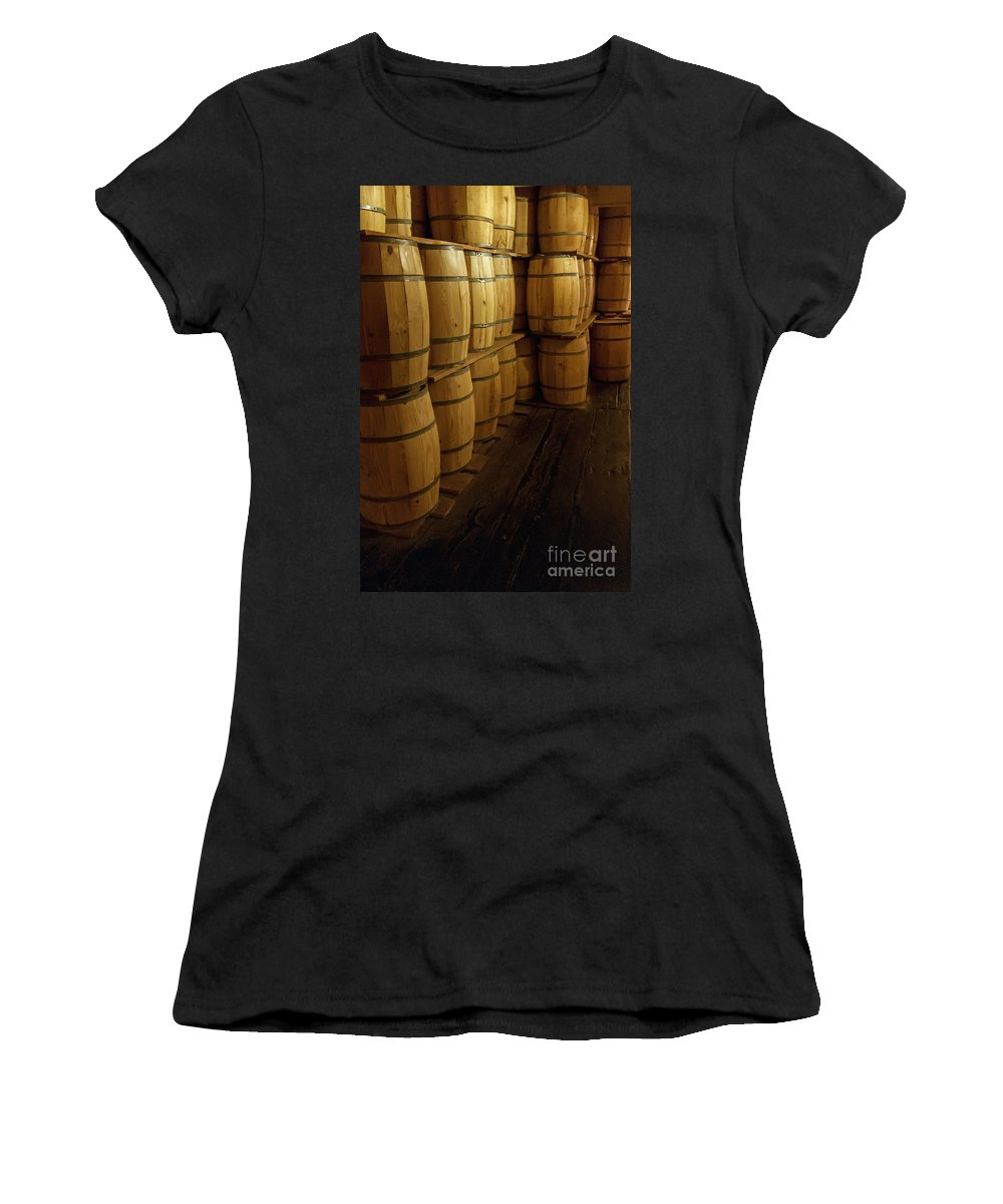 Wine Women's T-Shirt featuring the photograph All The Wine by Margie Hurwich