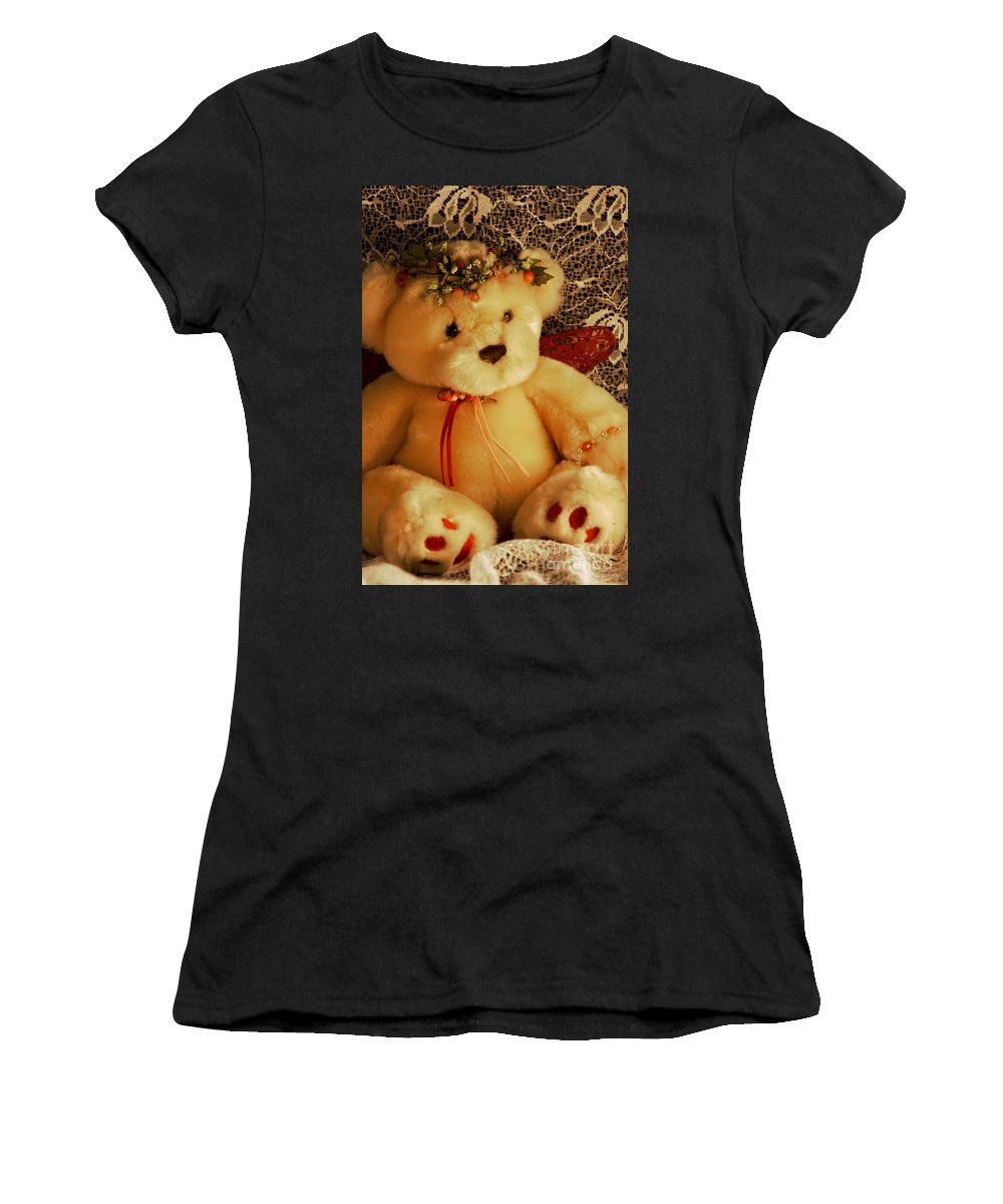 Kids Women's T-Shirt (Athletic Fit) featuring the photograph Angle Bear by Robin Lynne Schwind