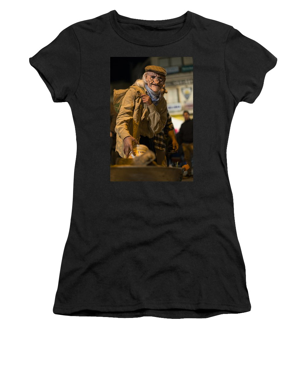 2015 Women's T-Shirt featuring the photograph Grotesque by Focus Fotos