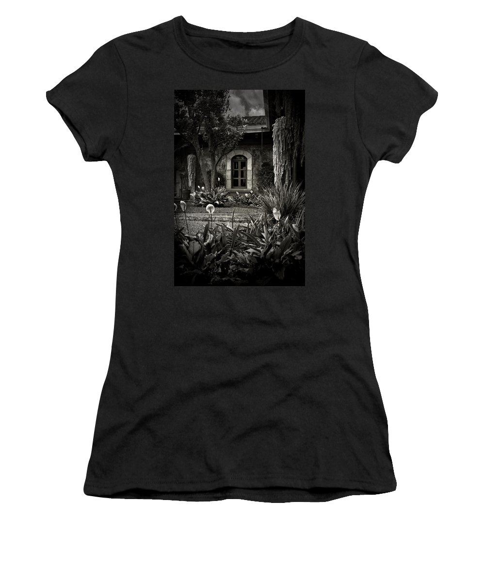 Garden Women's T-Shirt (Athletic Fit) featuring the photograph Antigua Garden by Tom Bell