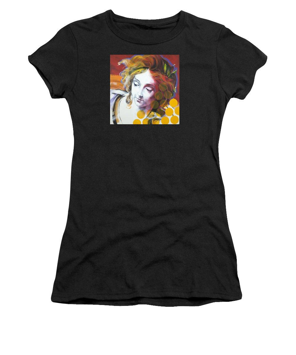 Pop Women's T-Shirt featuring the painting Archangel Michael by Jean Pierre Rousselet