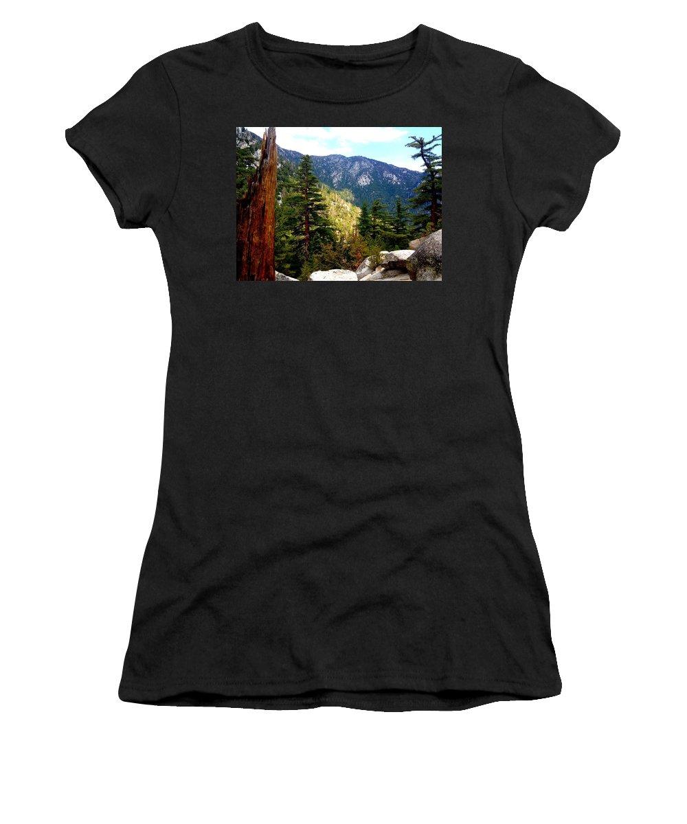 Idyllwild Women's T-Shirt featuring the photograph Beautiful Idyllwild by Christine Owens