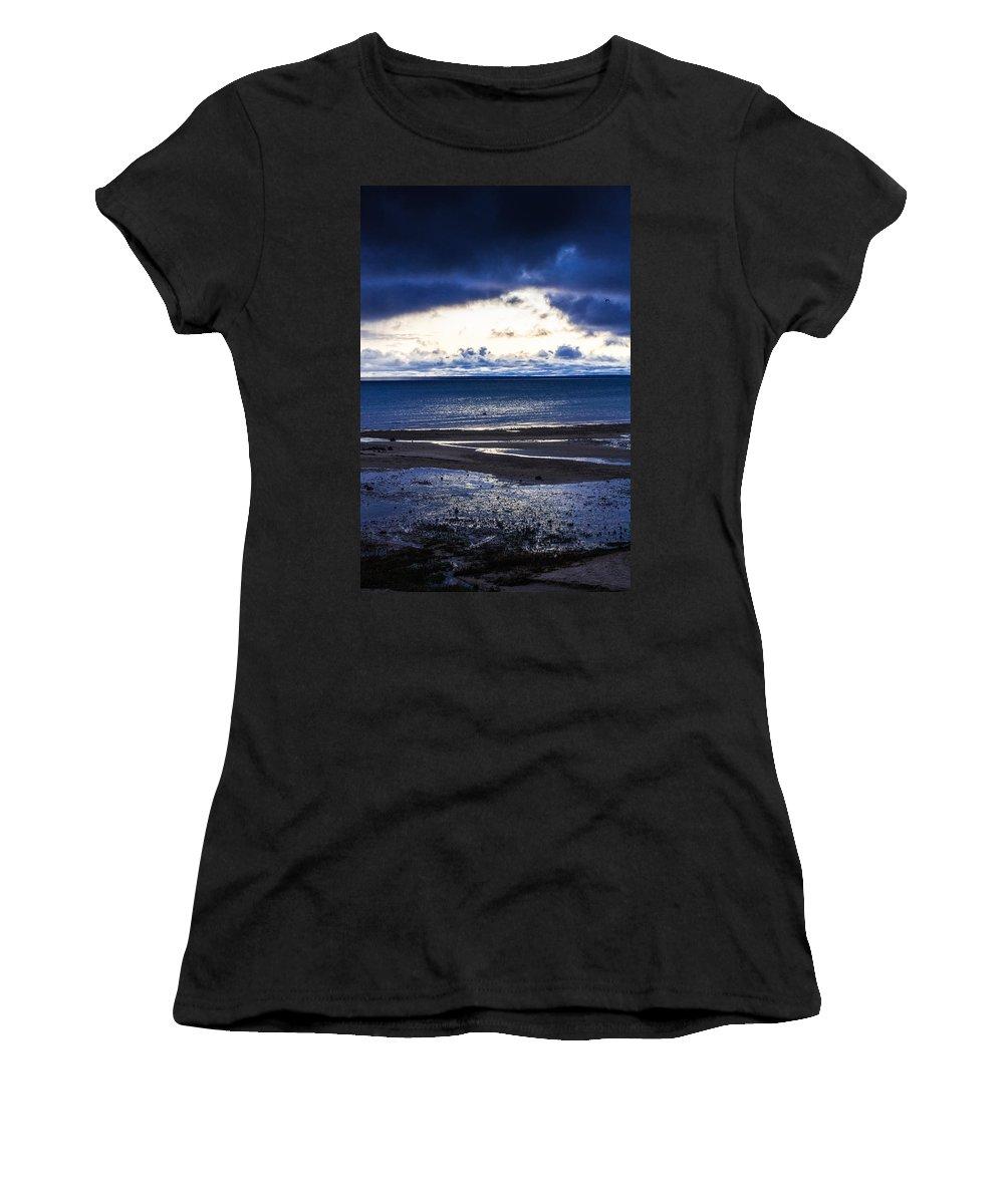 Mackinaw Island Women's T-Shirt (Athletic Fit) featuring the photograph Beautiful View by Sheri Bartoszek