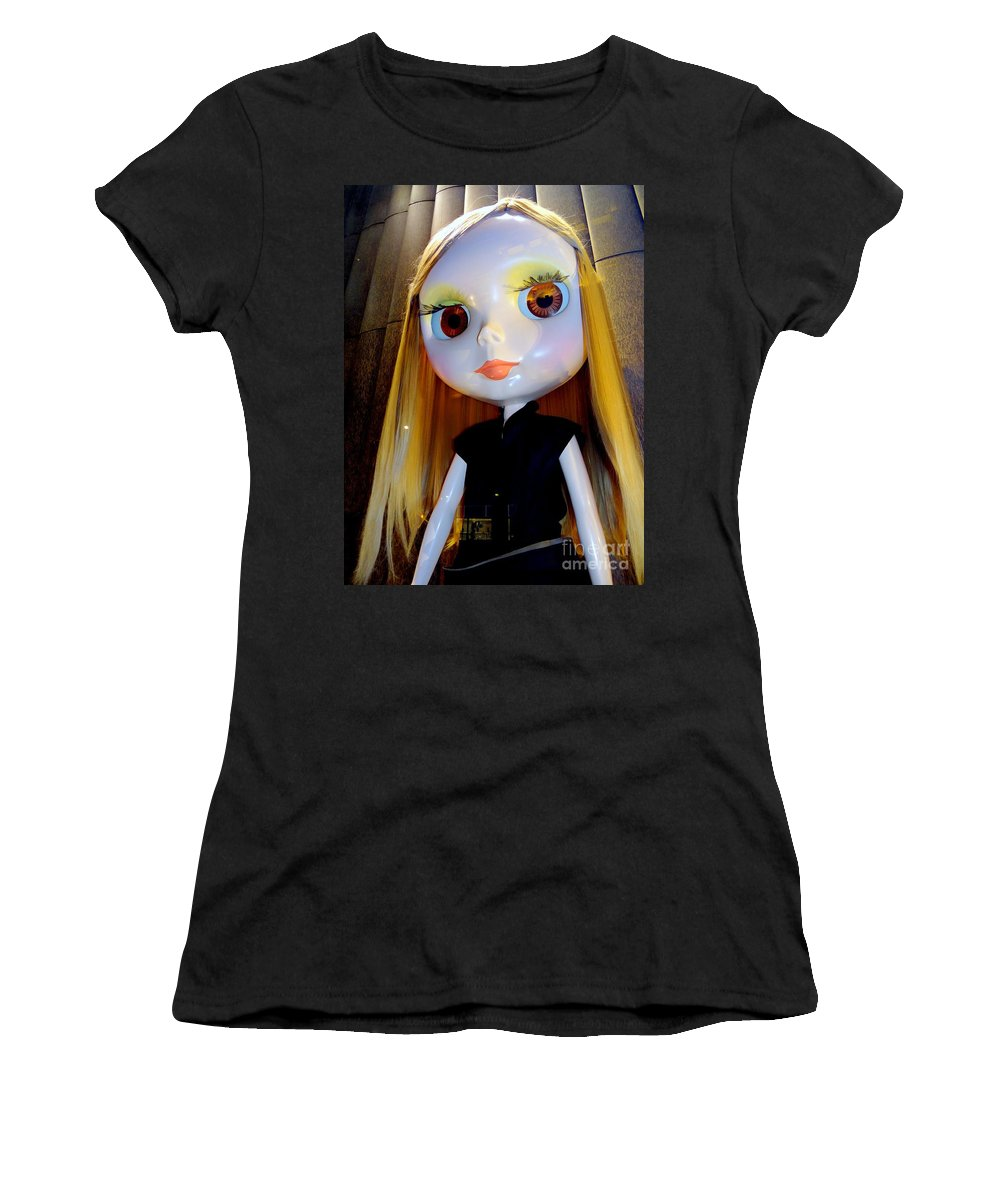 Mannequins Women's T-Shirt (Athletic Fit) featuring the photograph Bigger Than Life by Ed Weidman