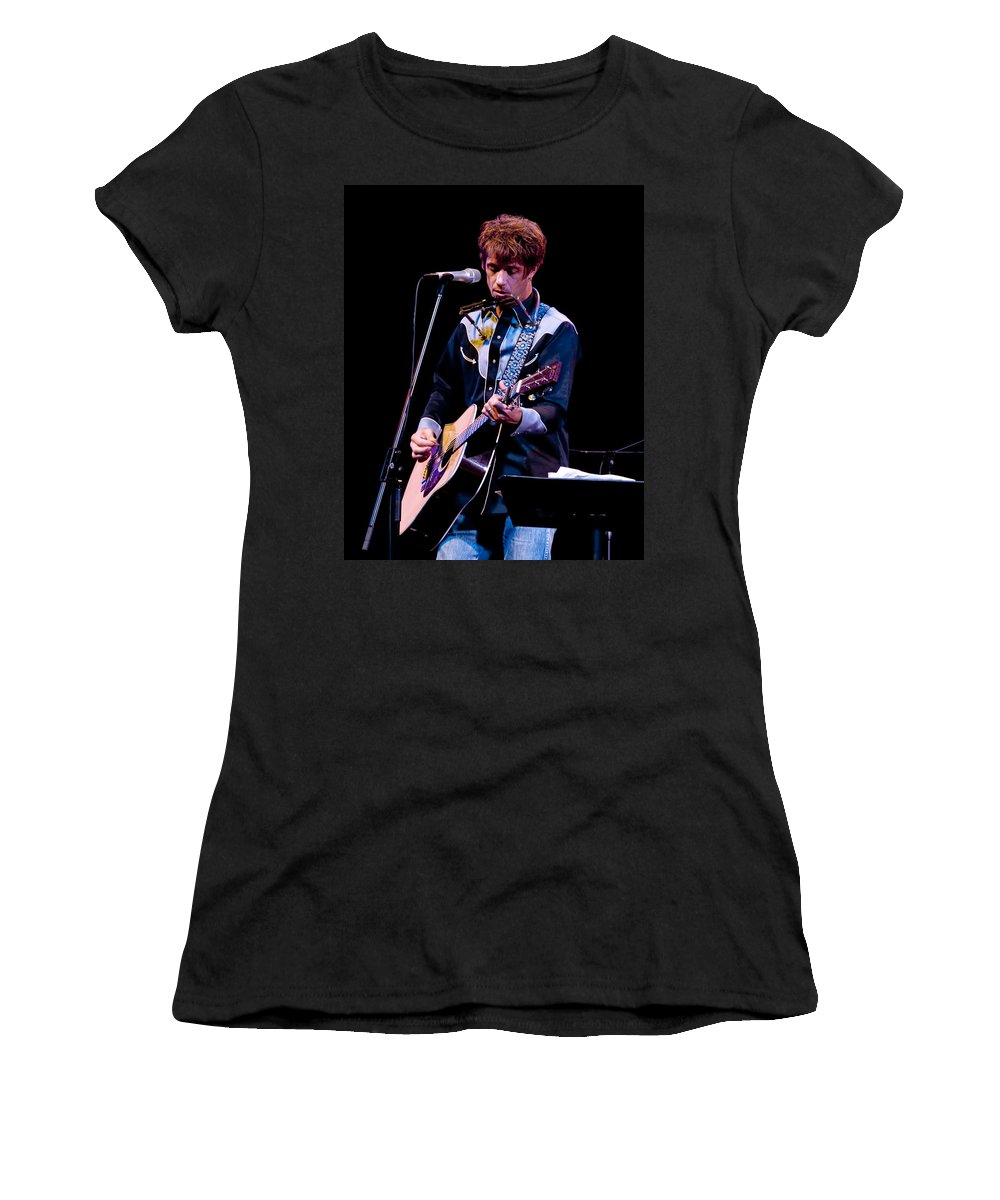 Art Women's T-Shirt featuring the photograph Bill Malonee Of Vigilantes Of Love by Randall Nyhof