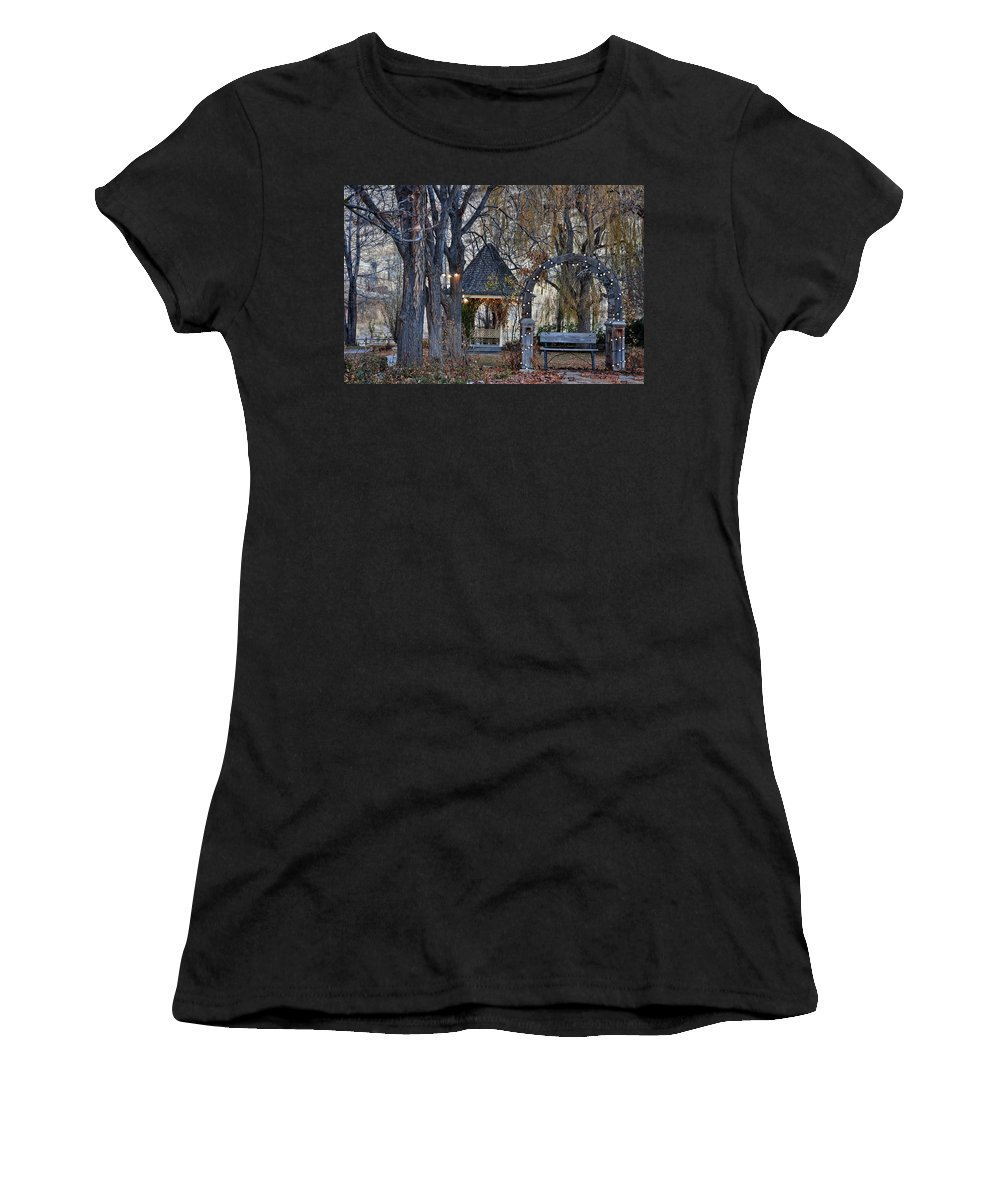 Boise Women's T-Shirt (Athletic Fit) featuring the photograph Boise Idaho by Image Takers Photography LLC