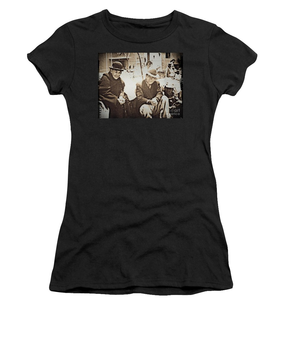 Family Women's T-Shirt featuring the photograph Bolivian Family 1968 by W E Loft