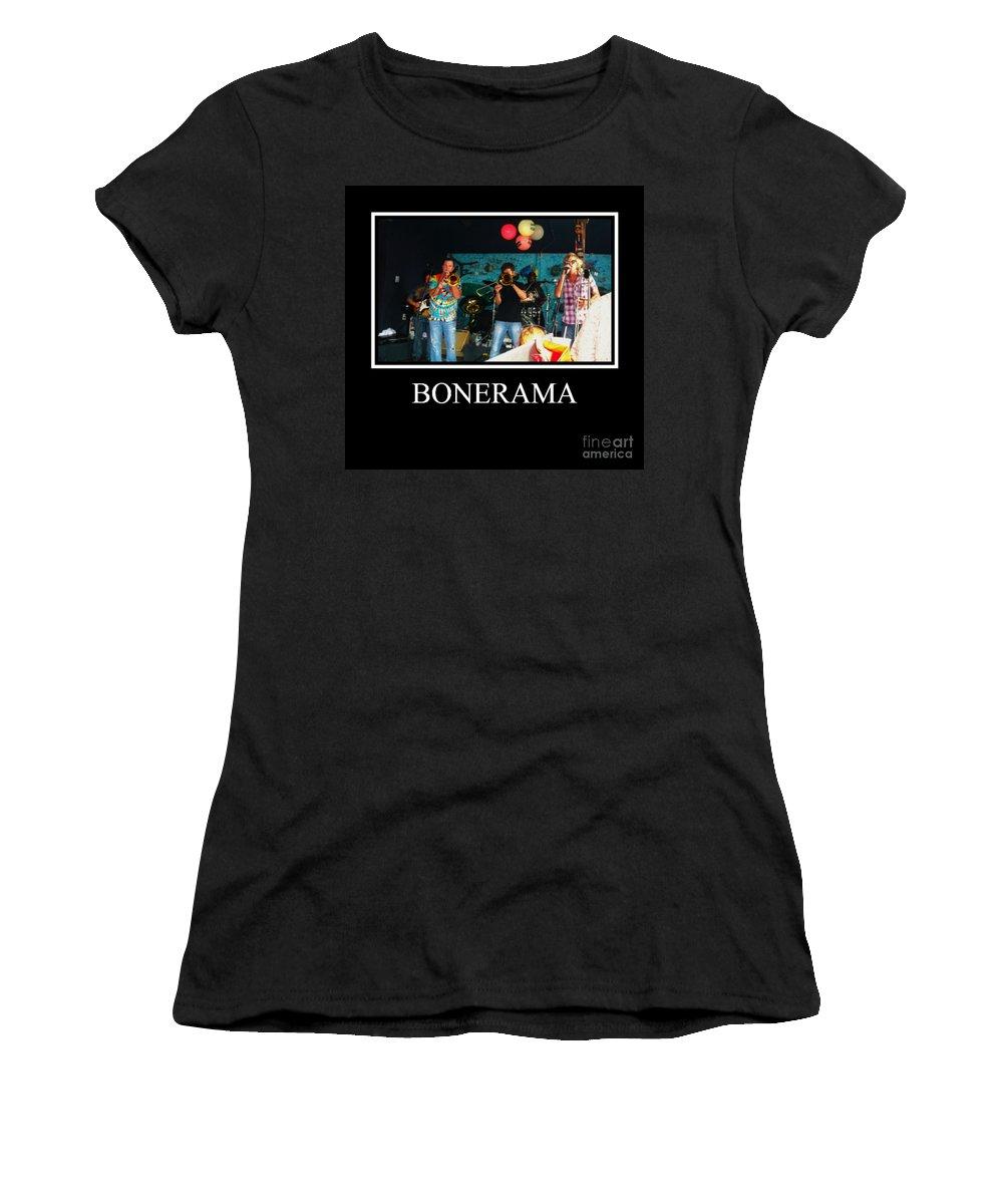 Women's T-Shirt featuring the photograph Bonerama by Kelly Awad