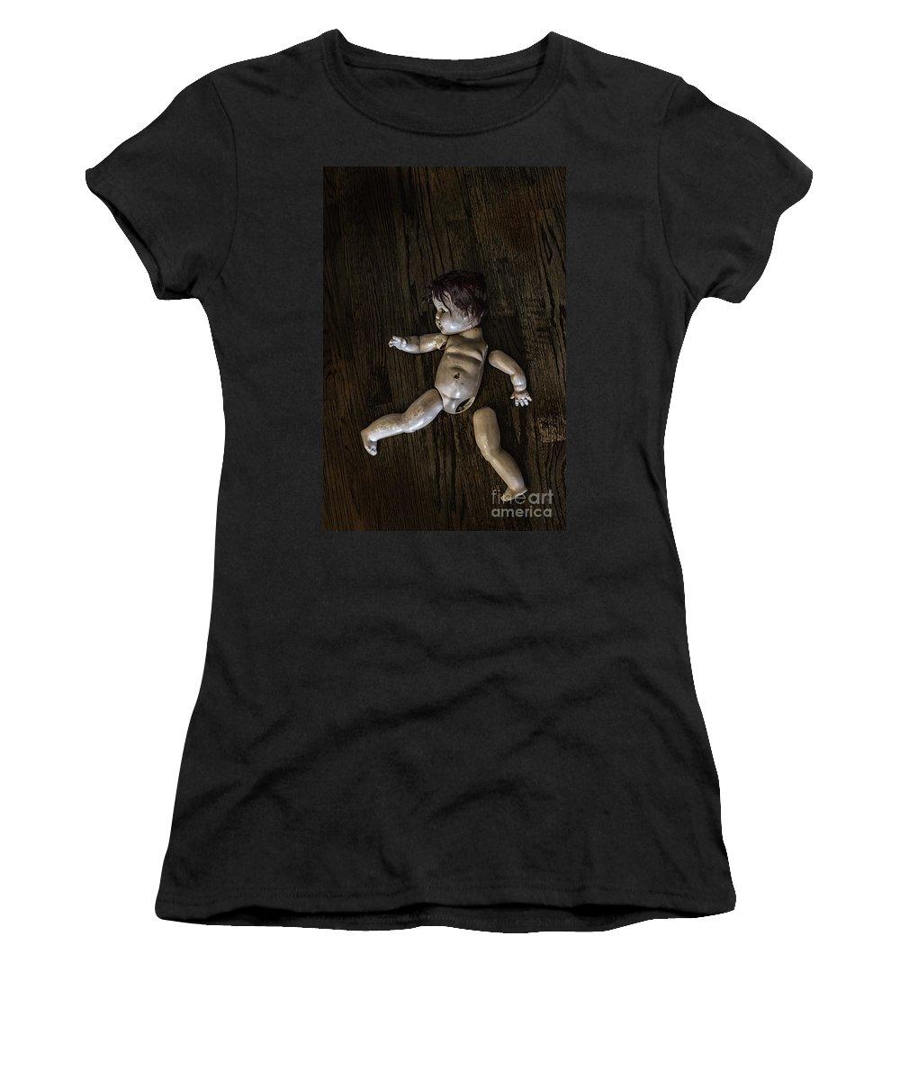 Broken Women's T-Shirt featuring the photograph Broken To Pieces by Margie Hurwich