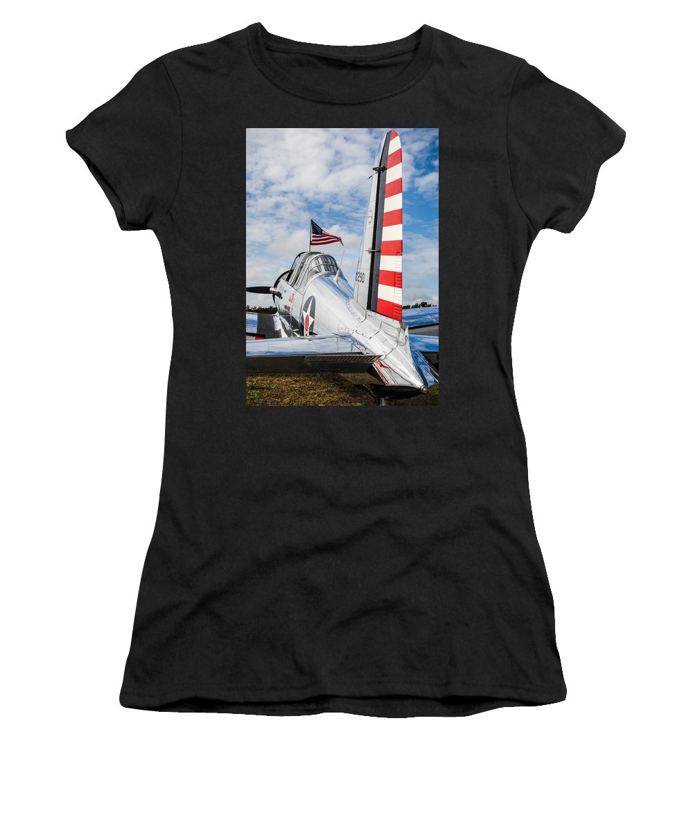 Bt Women's T-Shirt (Athletic Fit) featuring the photograph Bt13 by David Hart